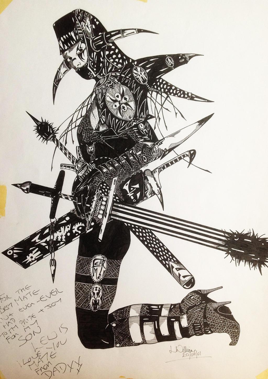 Ninja by Tattoo-Ken on DeviantArt