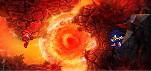 Chaos Shadow vs semi Dark Sonic