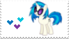 DJ Pon3 Stamp by kiwikuu