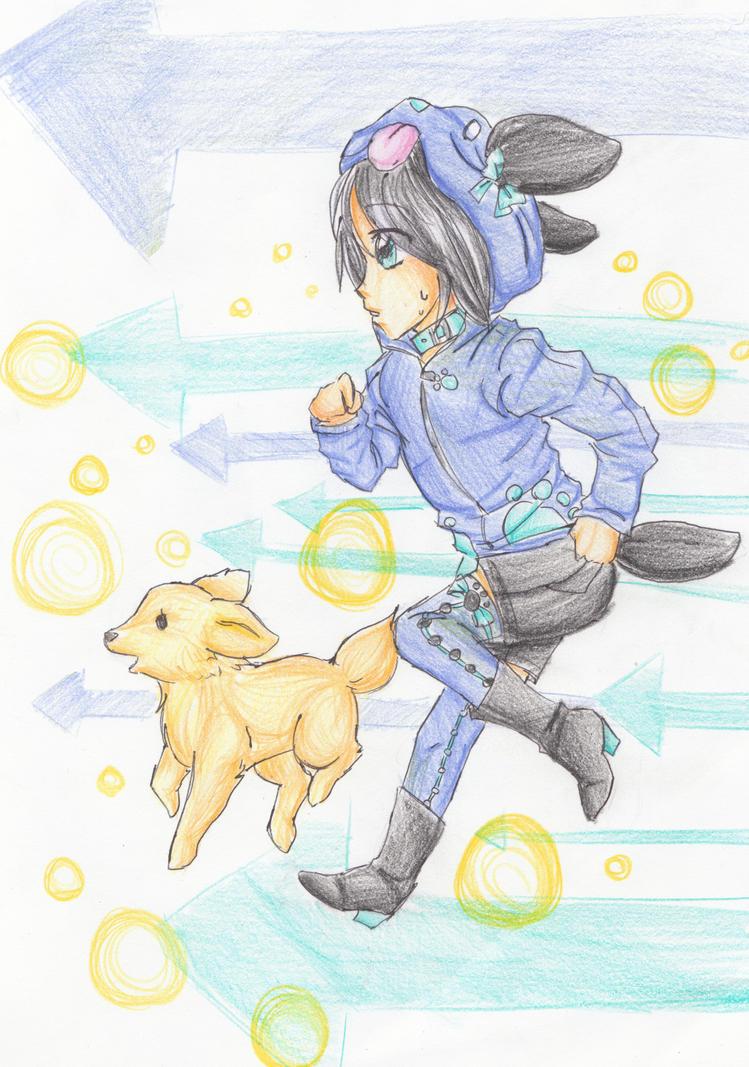 (Art Trade) What is it boy? by bunnyb133