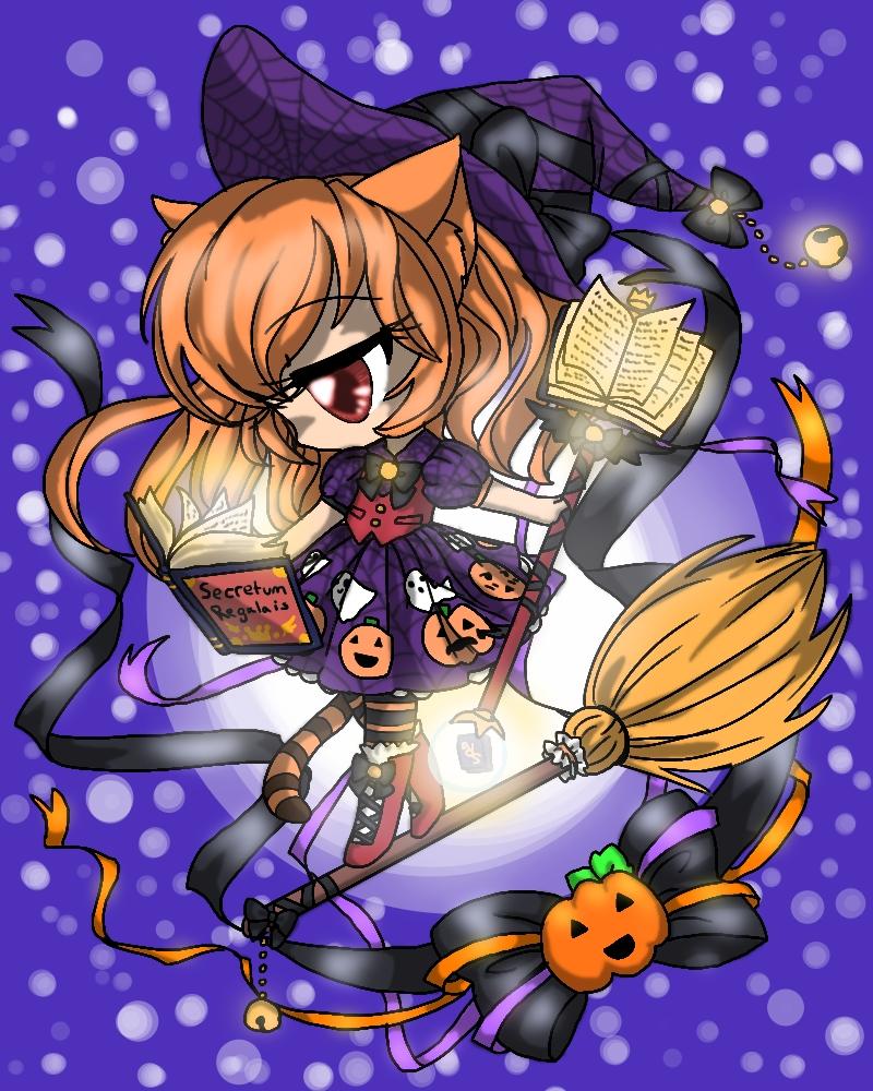 The study of Halloween by bunnyb133