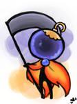 Oddlette Custom for ThyneOwnSlave by bunnyb133