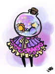 Oddlette Custom for GalacticWinter by bunnyb133