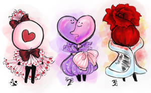Valentine Oddlette Adopts! (CLOSED) (ON SALE) by bunnyb133