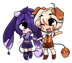 Itty-Bit Chibi Commision for Himetochan by bunnyb133