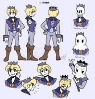 The Forgotten Prince Haze - Character Sheet by bunnyb133