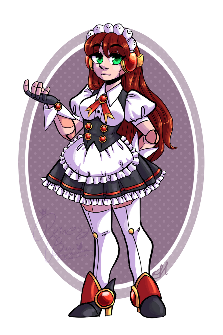 Custom Adopt - Robo-Maid by bunnyb133
