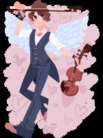 Ronan the Cupid by bunnyb133