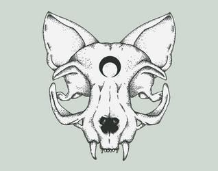 KittenSkull Logo by Kitten-Skull