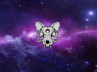 Galaxy Puss by Kitten-Skull