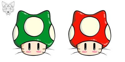 Mushroom Cats