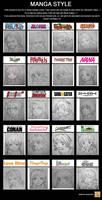 manga style MEME by xeech