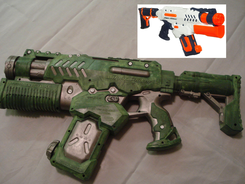 Nerf Gun Prop - Super Soaker Tornado Prop by MirrorMask
