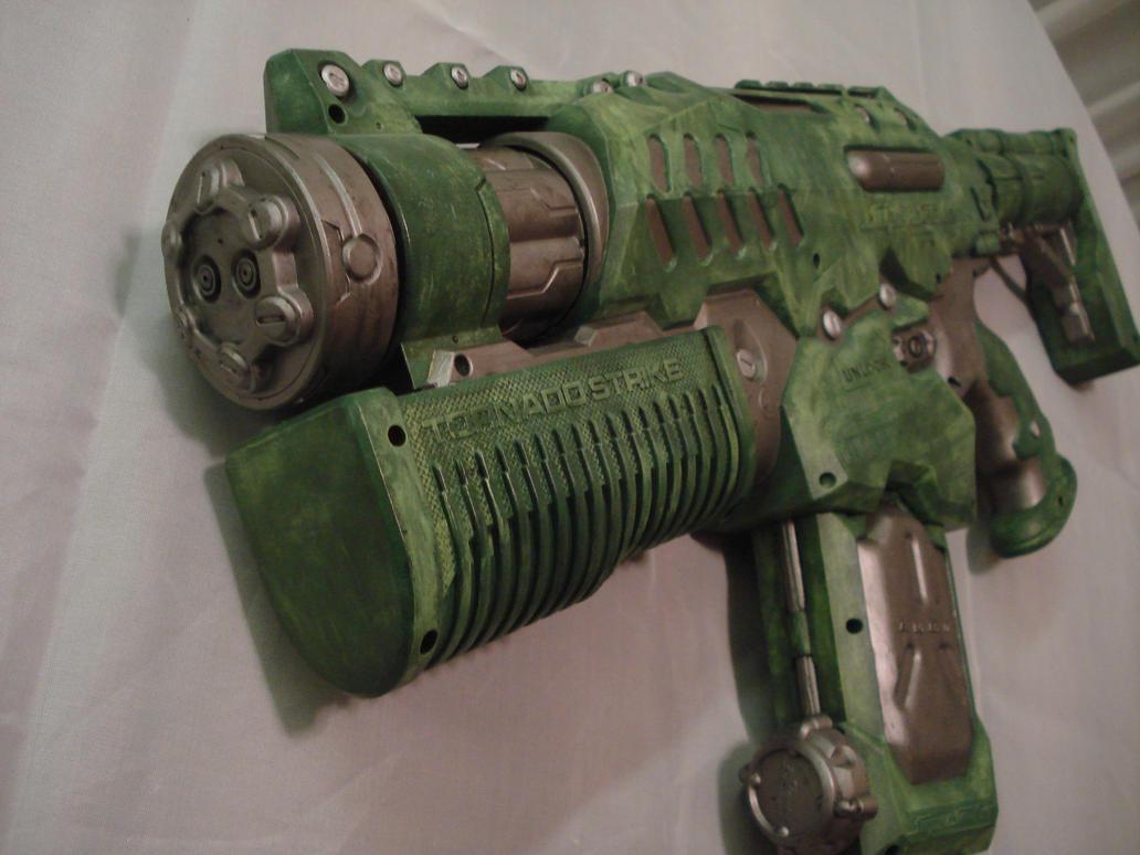 Semi-Automatic NERF Longshot. Cool Nerf GunsNerf ...