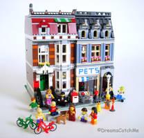 Pet Shop LEGO by DreamsCatchMe
