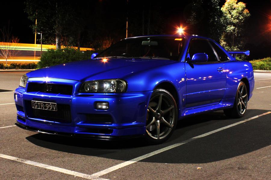 Blue Nissan Skyline Wallpapers Cars Wallpaper | HD Wallpapers ...