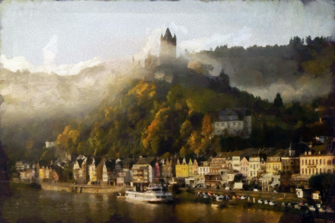 German City with Castle by externible