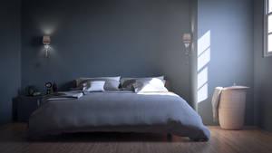 Bedroom Interior 3DSMax Vray