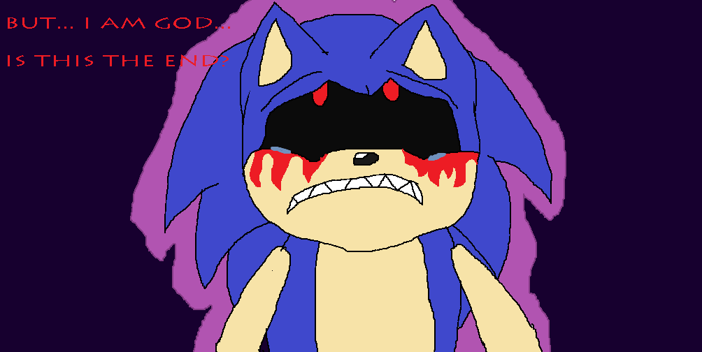 The end of sonic exe by multimugen on deviantart
