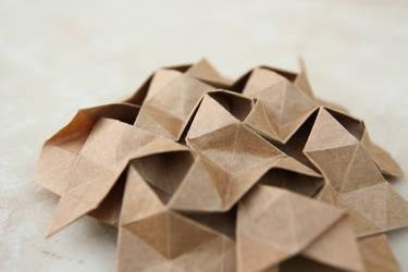 Iso-area hexagon tessellation from Beth Johnson