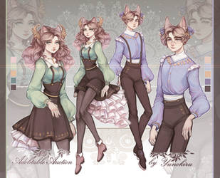 Adobtable Auction|Royal collection [closed] by Yunokiru-Str