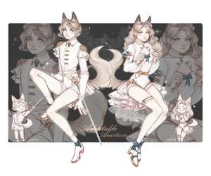 [closed] Auction Adoptable + sketch [closed] by Yunokiru-Str