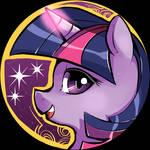 Twilight Sparkle Charm