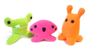 Candy-Colored Creatures by mintconspiracy