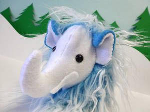 Winter Mini Mammoth - Blue and White