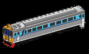 Daewoo diesel railcar