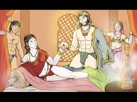 Mughal Empire - The love harem