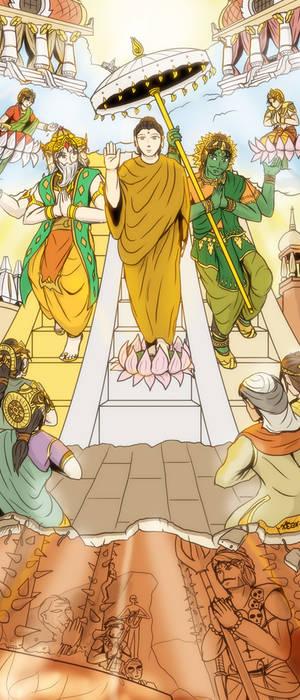 Pavarana - Open the Dharma world