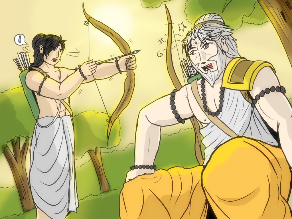 dronacharya and arjuna relationship advice