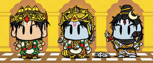Trimurti SD Characters