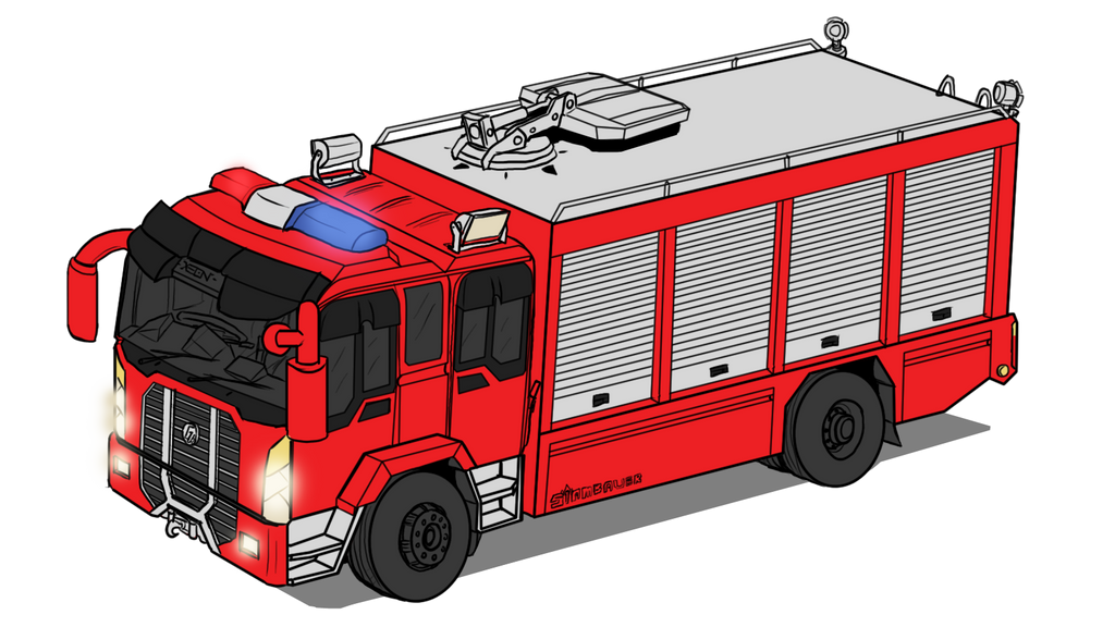 Truck Cartoon Animal Shelter : Gigus xm rescue tools truck by vachalenxeon on