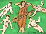 Narada Muni and the Four Kumaras