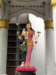 Ardhanarishvara at Jasmine City by VachalenXEON
