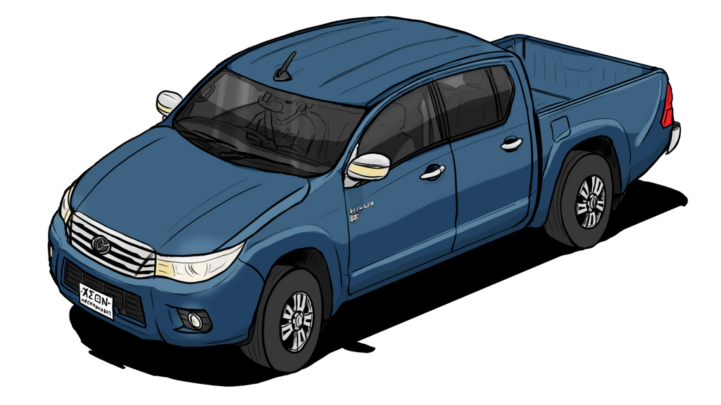 Toyota Hilux Revo Double Cab By Vachalenxeon On Deviantart