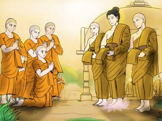 Bhikkhuni - Equality Monasticism by VachalenXEON