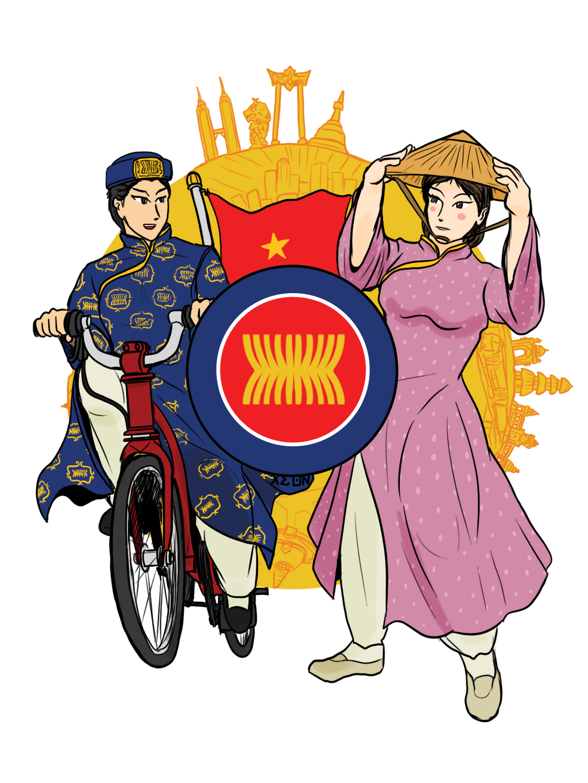 The Asean Celebration Vietnam Style By Vachalenxeon On