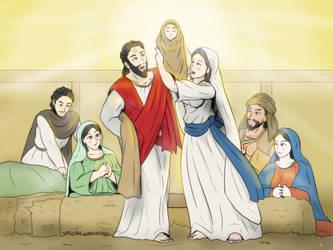 The Holy grace celebration by VachalenXEON