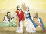The Holy grace celebration