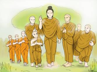 The Divine Gautama team by VachalenXEON