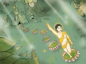 Baby Gautama - The grow shala by VachalenXEON