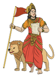 Bharat Mata - Statue of Constitution by VachalenXEON
