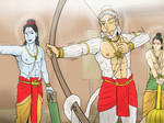 Ramayana - Hanuman archery class by VachalenXEON