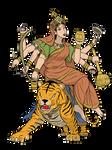 Navdurga - Kushmanda Devi