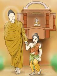Shakyamuni - Dynasty reunion by VachalenXEON