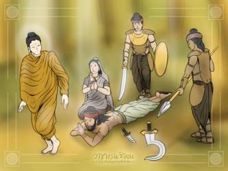 Surrender to The Gautama by VachalenXEON