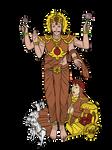 Navgraha - Surya Dev by VachalenXEON